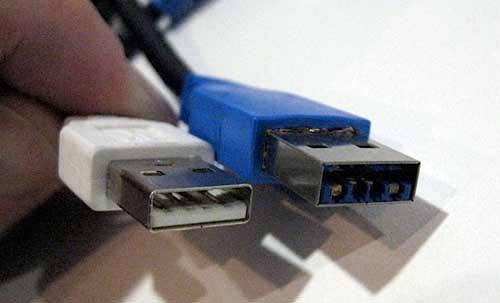 USB2 a USB3