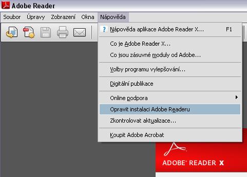 PDF-Reader-oprava-instalace