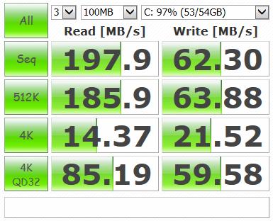 SSD OCZ Agility 3 60GB