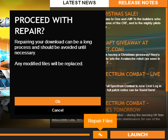 robocraft update repair